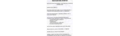Restauration Motos Anciennes